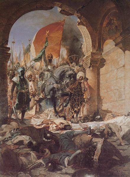 Entrada Constantinopla